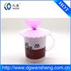 custom eco-friendly food-degree silicone coffee cup lid