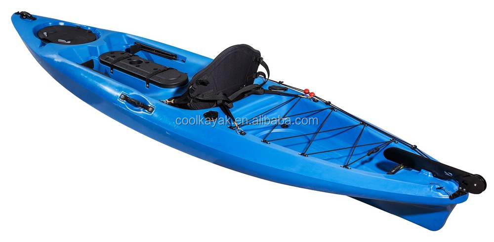 12 feet fishing kayak with rudder view 12 feet fishing for Fishing kayak with foot pedals