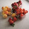 custom food grade clear plastic fruit tray