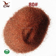 Abrasive garnet sand for water jet cutting and sandblasting