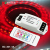 12v 24v 3ch rgb controller touch RF Remote 4A*3channels RGB LED Controller for led strip