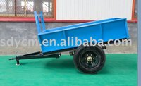 single axle trailer