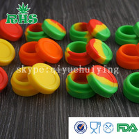 JANSEN 5ml silicone container for wax/oil, 32*18 mm silicone jar