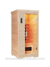 1 person sauna slimming wooden barrels for sale with ceramic heater
