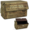Wood grain storage box