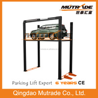 Mechanical Car lift Four Post - VRC Floor to fllor lift