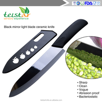 Modern kitchen designs 6 inch ceramic chef knife with TPR handle trade Assurance supplier