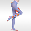 WONDQ Women Varicose Veins Control Top Medical Compression Pantyhose