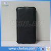 High protective black micro fiber flip pu leather case for samsung galaxy note 3