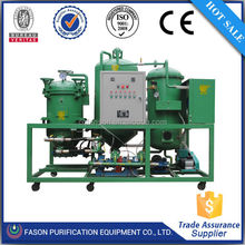 Fason best sales transformer oil filtration machine/recycling used oil in diesel