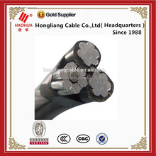 Medium volatge 11kV abc cable 3 Core Type A (armoured) Steel Catenary