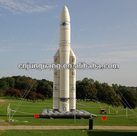 2015 Hot sale inflatable rocket ship for advertising