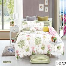 100% cotton bed sheet king size bed comforter sets luxury wedding bedding duvet set 3d reactive printed children bed set