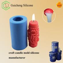 Rtv-2 caucho de silicona de silicona fabricación de moldes para velas