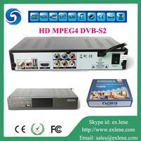 Hot sale high Definition Digital Satellite Receiver dvb s2 set top box