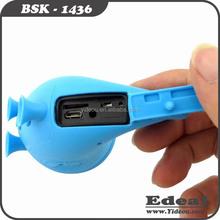 new computer gadgets 40mm driver type chameleon shape mobile speaker bluetooth V3.0