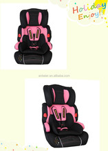 Ningbo ECE R 44/04 HDPE plastic pink car baby safety seat