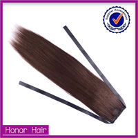 2015 factory price silky shiny kids ponytail hair extension