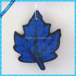 Hot sale funny paper any shape,Customized car air freshener wholesale