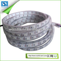 WS2812b addressable led flexible strip ip68