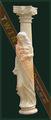 coluna de mármore para venda