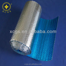 House aluminum foil bubble thermal wrap insulation/fireproof silver foil bubble insulation