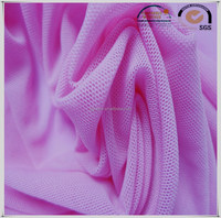 Hot sale stretch spandex tricot knitted mesh fabic for sportswear