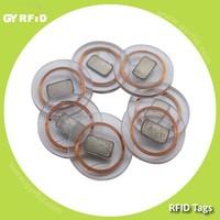 DIT NTAG203 13.56mhz rfid Clear Disc Tag for RFID security system ( GYRFID )