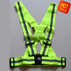 reflective running vest for jogging and motorcycle
