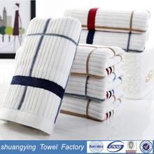 China factory wholesale 35*75cm 105g cheap 100% cotton towels