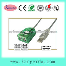 high speed good quality 2.0 with cable 4 port usb hub