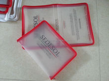 clear plastic zipper folder,file folder mechanism