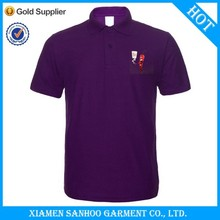 2014 New Fashion High Quality Stock Polo Shirt Printing Small Logo On The Front Two Sides Chest