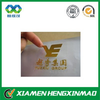 Custom heat transfer printing sticker; hot stamping transfer stickers