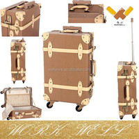 Workwell new design vintage/foshion trolley luggage/suitcase Kw-L16