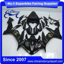 FFGYA004 China Fairings Motorcycle For R1 2004 2005 2006 Matt Black With Gold Sticker 24