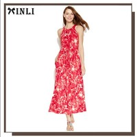 Wholesale 2015 Summer Beach Ladies Sleeveless Tall Tube Women Sexy Maxi Dress