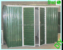 High strength Withstand Wind prefabricated steel metal shed house