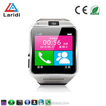 2015 Fashion wholesale smart watch GV08 wriatwatch for ios and android mobile phone