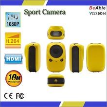 cool design good price sport action camera mini waterproof 2.0mp sport camera
