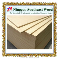 HDF raw and plain high density board