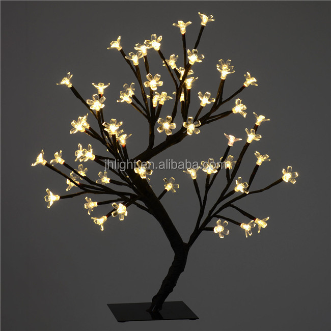 warm white led wedding lighting tree led flower tree light decorative artificial flower with. Black Bedroom Furniture Sets. Home Design Ideas