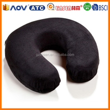 2014 Linsen Pillow Supplier cheap wholesale U shaped memory pillow