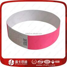 cheap rfid inkjet paper rfid bracelet price for event