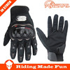 RIGWARL Protective Leather Black Full Finger Motorbike Glove With OEM Service
