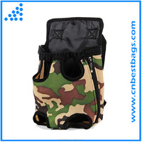 Legend hot camouflage pattern travel pet carrier pack pet travel bags using in front