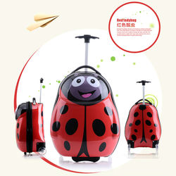 ABS PC film kids luggage kids luggage with wheels
