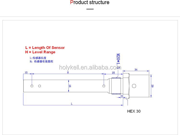 Capacitance Level Sensor