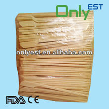 A grade hot selling special disposable bamboo flat sticks
