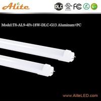 New products 2016 DLC UL T8 4ft 18w led tube light film film porno 2015